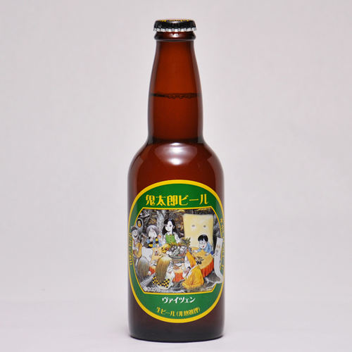 鬼太郎ビール ヴァイツェン 330ml ×1本 要冷蔵 鳥取県産 地ビール WBA 世界第1位 代引不可 ギフト お歳暮 父の日 お中元