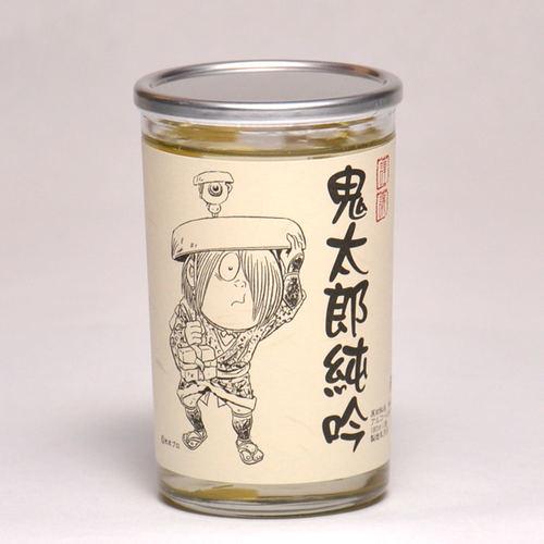 千代むすび 鬼太郎純吟 ワンカップ 180ml 日本酒 鳥取 地酒