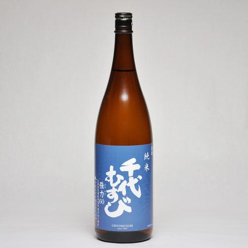 千代むすび 純米強力60 1800ml 日本酒 鳥取 地酒 ギフト お歳暮 父の日 お中元