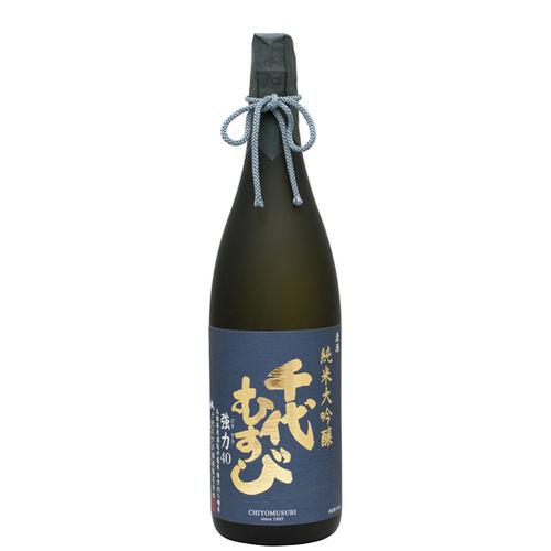 千代むすび 純米大吟醸 強力(ごうりき)40 1800ml 日本酒 鳥取 地酒 ギフト お歳暮 父の日 お中元
