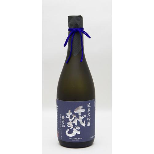 千代むすび 純米大吟醸 強力(ごうりき)40 720ml 日本酒 鳥取 地酒 ギフト お歳暮 父の日 お中元