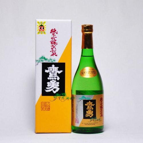 鷹勇 純米吟醸 「なかだれ」 720ml 日本酒 鳥取 地酒 ギフト お歳暮 父の日 お中元
