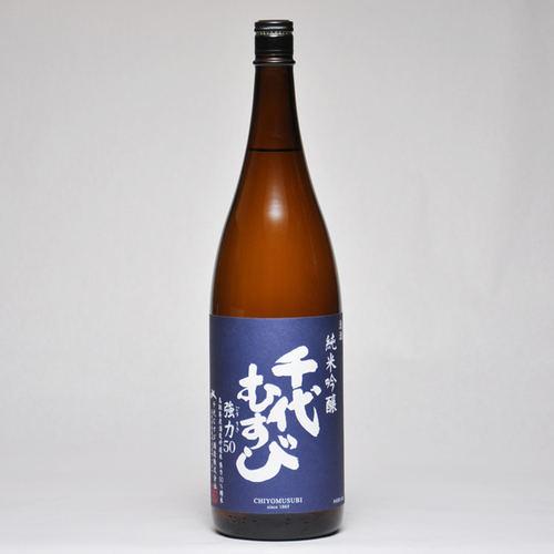 千代むすび 純米吟醸 強力(ごうりき)50 1800ml 箱入 日本酒 鳥取 地酒 ギフト お歳暮 父の日 お中元