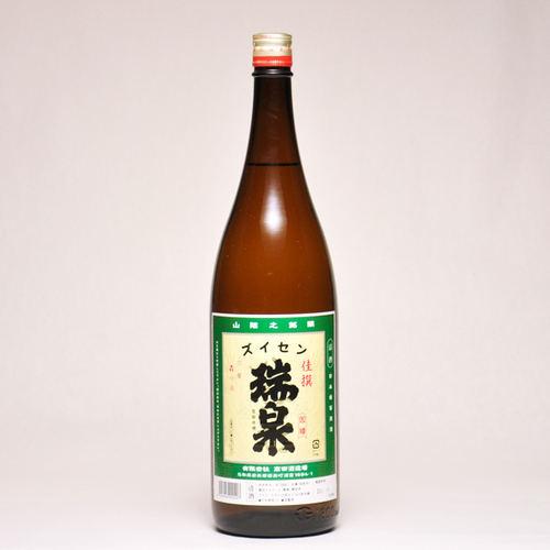 瑞泉 佳撰 1800ml 日本酒 鳥取 地酒 ギフト お歳暮 父の日 お中元