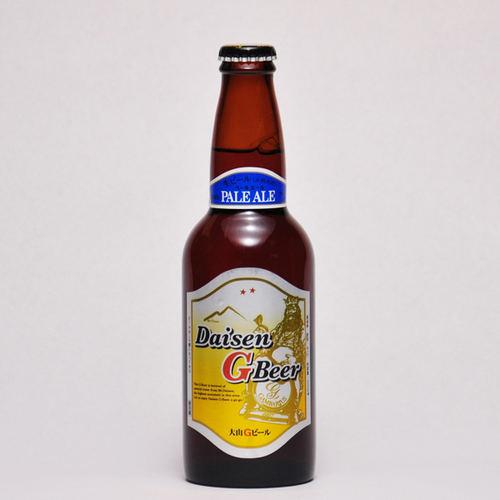 大山Gビール ペールエール 330ml ×1本 要冷蔵 鳥取県産 地ビール 代引不可 ギフト お歳暮 父の日 お中元
