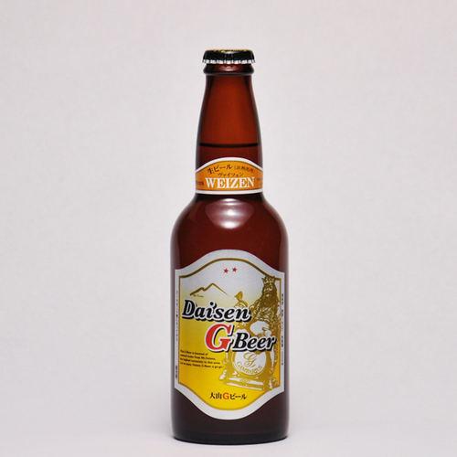 大山Gビール ヴァイツェン 330ml ×1本 要冷蔵 鳥取県産 地ビール WBA 世界第1位 代引不可 ギフト お歳暮 父の日 お中元