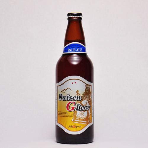 大山Gビール ペールエール 500ml ×1本 要冷蔵 鳥取県産 地ビール 代引不可 ギフト お歳暮 父の日 お中元