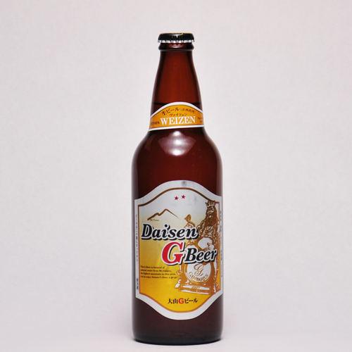 大山Gビール ヴァイツェン 500ml ×1本 要冷蔵 鳥取県産 地ビール WBA 世界第1位 代引不可 ギフト お歳暮 父の日 お中元