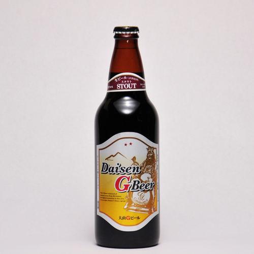 大山Gビール スタウト 500ml ×1本 要冷蔵 鳥取県産 地ビール 代引不可 ギフト お歳暮 父の日 お中元