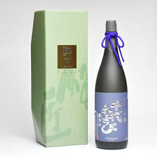 千代むすび 純米大吟醸 強力(ごうりき)40 箱付 1800ml 日本酒 鳥取 地酒 ギフト お歳暮 父の日 お中元 プレゼント用におすすめ