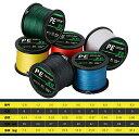 PEライン 釣りライン 8編 釣り糸 500m 高感度 耐磨耗 低伸度 各色 0.8号 16LB 〜8.0号 80LB 各種 釣り 釣り道具 フィッシング 釣り具 …