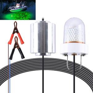 集魚灯夜釣りライト水中ライト12v/24v兼用色グリーン