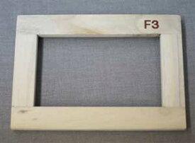 桐材・木枠 F3(273mm x 220mm)■格安!10個おまとめ買い■※メーカー直送対象商品のため【代金引換便】の利用ができません。