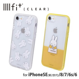 ミッフィー IIIIfit Clear iPhoneSE(第2世代)/8/7/6s/6対応ケース