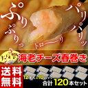 《送料無料》エビチーズ春巻き ロング 12本入(180g)×10パック ※冷凍【冷凍同梱可能】☆
