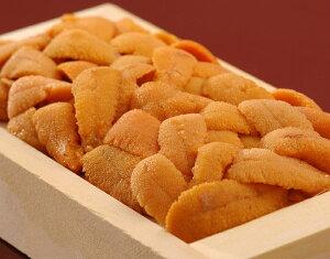 バフンウニ バラA品・弁当箱 北方四島または北海道産 約250g ※冷蔵