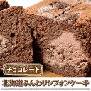 ケーキ シフォン 北海道 シフォンケーキ チョコレートホイップ 1本(約400g) 冷凍 スイーツ アイス デザート お土産 冷凍同梱可能