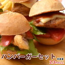 パン ハンバーガーセット 3品 約2.3kg ハンバーグ タラフリッター バンズ 冷凍 同梱可能 送料無料