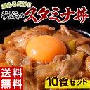 送料無料 秘伝の『スタミナ丼の具』 100g×10食セット ※冷凍 同梱可能