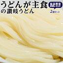 麺 うどん 饂飩 うどんが主食 讃岐うどん 半生タイプ 300g(3人前)×2袋 常温 送料無料 ネコポス 同梱不可