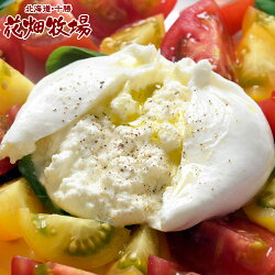 チーズ花畑牧場花畑牧場生モッツァレラブラータ70g×9個入りナチュラルチーズ冷凍同梱可能