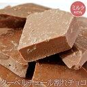 バレンタイン チョコレート 訳あり 送料無料 クーベルチュール割れチョコ ミルク 約250g わけあり ワケあり おやつ ス…