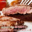 肉牛鹿児島県産黒毛和牛熟成サーロインステーキ用3枚入り480g冷凍同梱可能送料無料