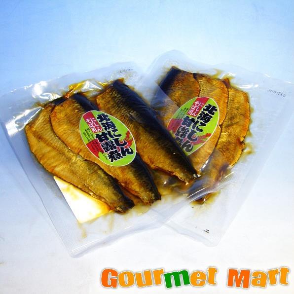 【DM便限定/送料込】ご飯のお供 北海にしん甘露煮 にしんそば用2個セット