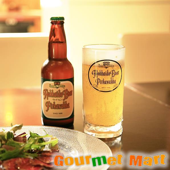 お中元ギフト 北海道ビール 千歳地ビール「ピリカワッカ」ヴァイツェン 330ml 6本セット