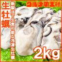 生牡蠣 2kg 生食用カキ Lサイズ 冷凍時1kg 解凍後850g×2パック 冷凍むき身牡蠣 生食用 新製法で冷凍なのに生食可能な…