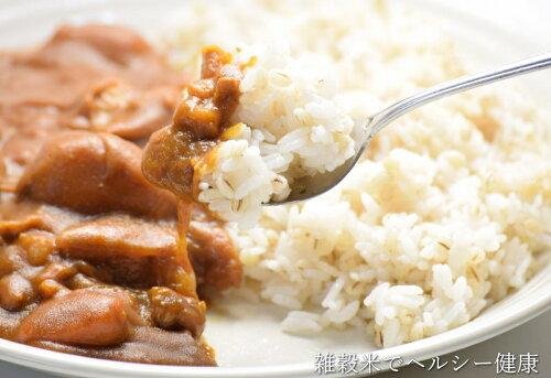 雑穀米カレー雑穀カレー