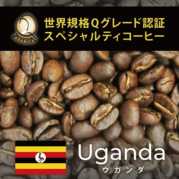 ウガンダ世界規格Qグレード珈琲豆(300g)/グルメコーヒー豆専門加藤珈琲店/珈琲豆