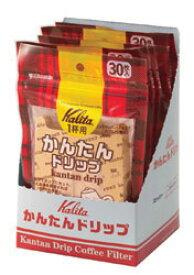 [お取り寄せ商品]かんたんドリップ(1箱:6袋入)/カリタ(Kalita)/グルメコーヒー豆専門加藤珈琲店