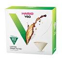 V60用ペーパーフィルターみさらし100枚箱入りVCF-02-100MK(1〜4杯用)/ハリオ(HARIO)コーヒーフィルター/アイス珈琲/アイスコーヒー/グル...
