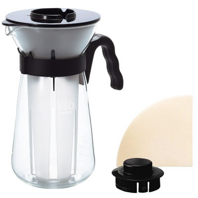 V60アイスコーヒーメーカー・フレッタVIC-02B/ハリオ(HARIO)/グルメコーヒー豆専門加藤珈琲店