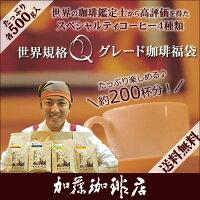 コーヒー豆コーヒー2kg福袋世界規格Qグレード珈琲福袋(お菓子・Qグァテ・Qメキ・Qニカ・Qタンザニア各500g)珈琲豆加藤珈琲