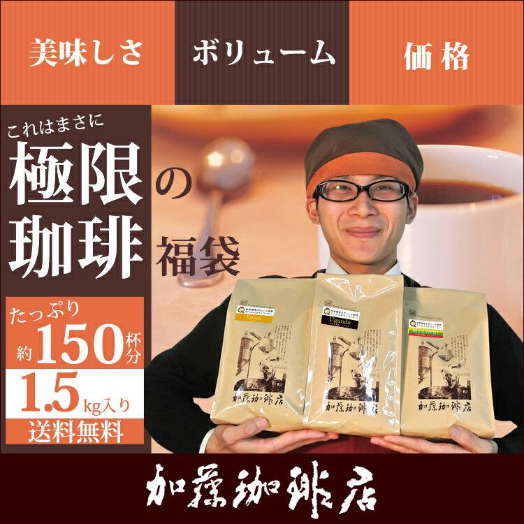 極限の珈琲福袋(Z)(Qエチオピア・Qエル・Qコロ/各500)/珈琲豆