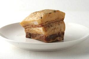 イベリコ豚ベジョータ バラ肉スモーク(約200g) 美味で上品な油の旨味【冷凍 不定貫4285/kg(税別)で再計算】