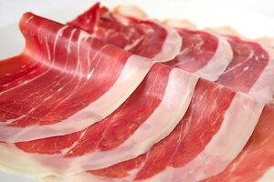 ハモンセラーノ・スモーク30ヶ月熟成生ハムスライス(80g)◆マイルドな塩分としっとり感、かすかなスモークの香り【冷凍】