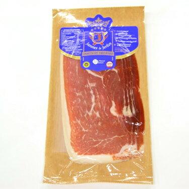豚肉と塩のみで作った無添加生ハム!とってもピュアな味わい【ハモン・デ・トレベレス18ヶ月熟成生ハムスライス100g】(冷蔵) ハモンセラーノ オードブル パーティー クリスマス ワイン【05P03Sep16】