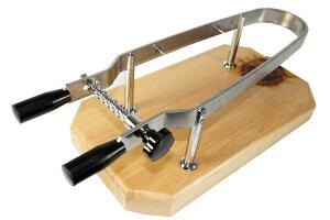 プロシュートホルダー(イタリア ピオトジーニの生ハム台) 骨付き 骨無し生ハム原木の両方に使えます