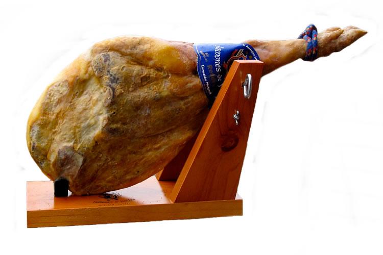 送料無料【トレベレス産ハモンセラーノ16ヶ月熟成レセルバ骨付生ハム原木】(不定貫/1kgあたり3780円)売れてます!