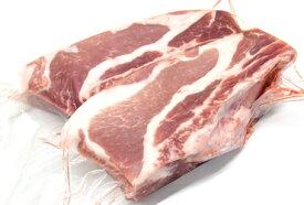 和豚もちぶたの肉厚スペアリブ カット小(2本入 約360g) 焼肉のたれに漬け込んで焼くだけ!簡単美味【冷凍 不定貫1990円/kg(税別)で再計算】