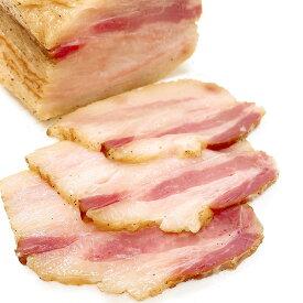 マラソンポイント5倍★イベリコ豚ベジョータの熟成バラベーコン200g(脂みの甘みとコク)【冷凍】