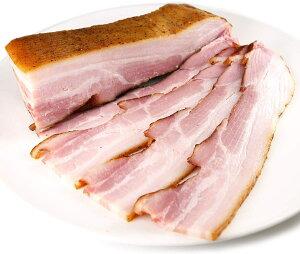 マラソンポイント5倍★熟成バラベーコン300g(肉質の良いフランス産豚バラ肉使用)【冷凍】