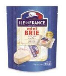 フランス産 イル・ド・フランス ミニブリー3P 75g(冷蔵) フランス/チーズ/白カビタイプ