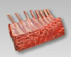 オーストラリア ラムフレンチラック キャップオフ(冷凍) 約0.65KgX14P ケース販売/表示価格は目安です。目方売り商品ですのでお支払い価格が変わりますので御了承下さい 仔羊肉/くら