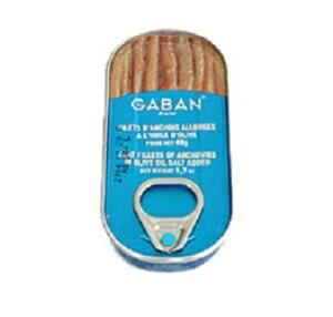 GABAN モロッコ フィレアンチョビ 48g/缶詰