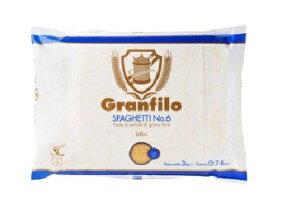 グランフィーロ スパゲティー No.6 1.6mm 3Kg/パスタ/ロングパスタ/イタリア/まとめ買い/業務用/お得用