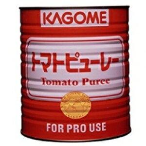 お取り寄せ カゴメ トマトピューレー 3kgX6缶